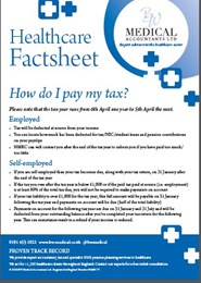 Healthcare Factsheet - How do I pay my tax?