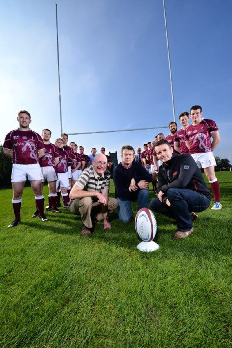 Rugby Team Scores Backing from Medical Accountants