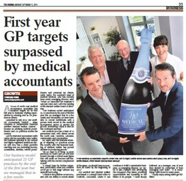 Over 60 GP Practices sign up to BW Medical - Year one!