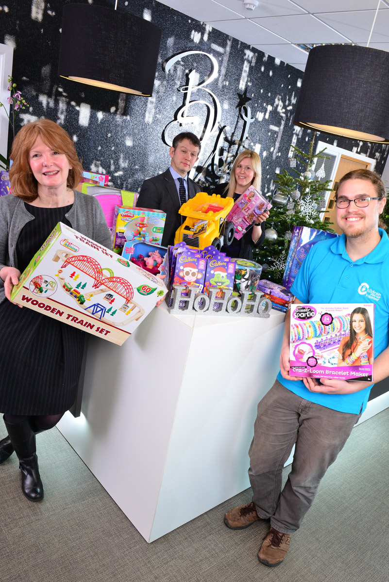 Blackett Walker reaches out at Christmas to Newcastle's oldest children's charity
