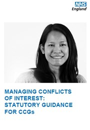 NHS England:Managing Conflicts of Interest - A Statutory Guide for CCGs - Dec14
